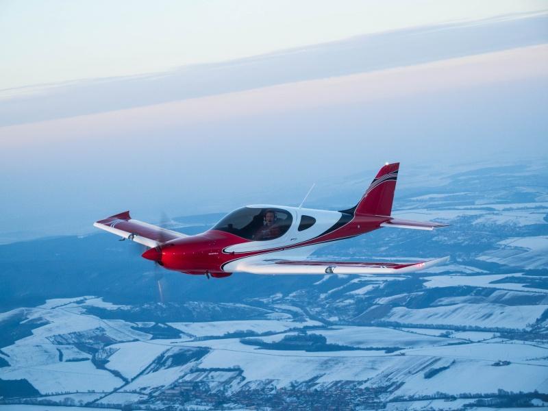 Zimní létání s BRISTELL