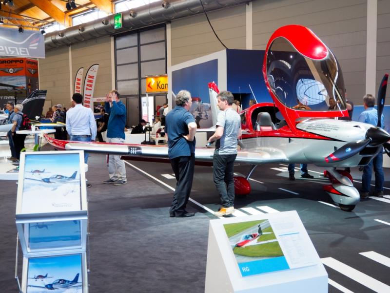 Letecká výstava Aero Friedrichshafen 2018, Německo