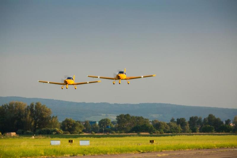 Nové foto z létání - Bristell pro Austrálii