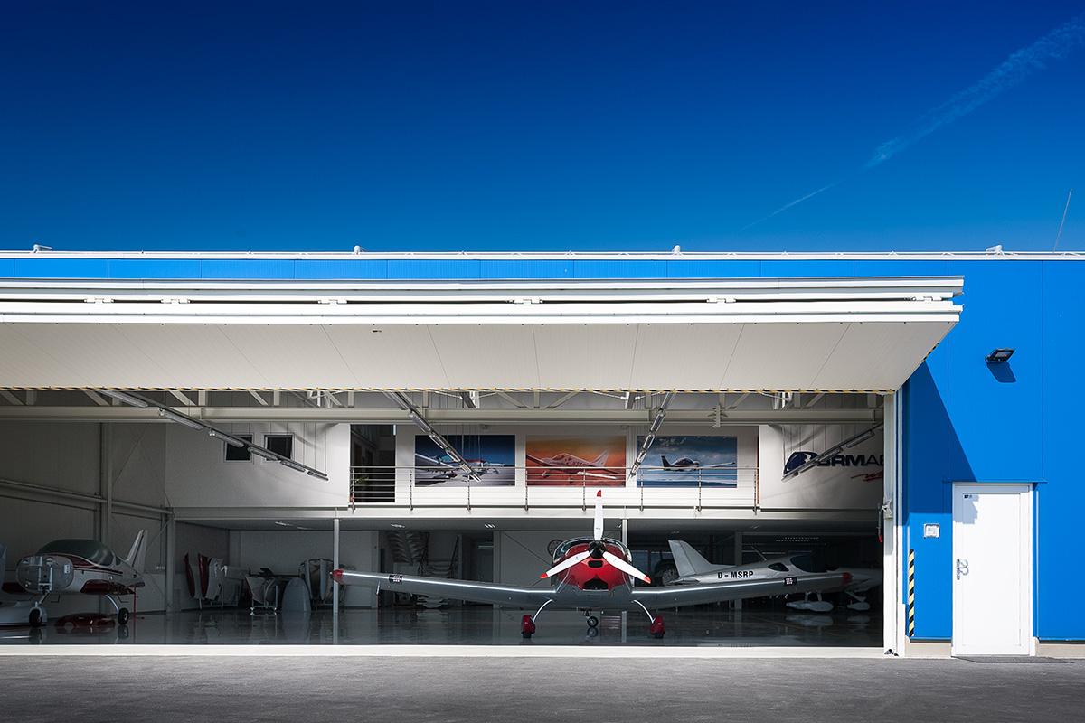 Hangar 1 finished