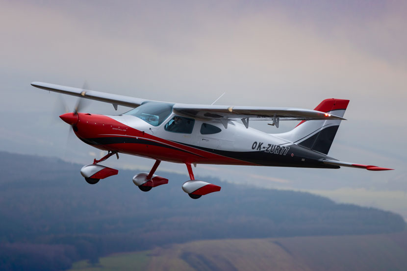 Development of a new all-metal high-wing aircraft BRISTELL B8 starts